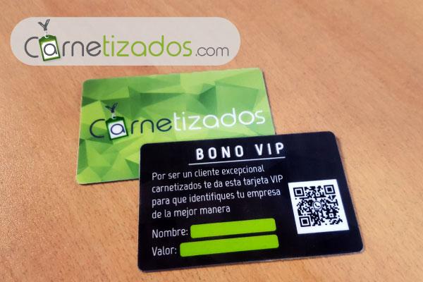 banner tarjetas vip carnetizados